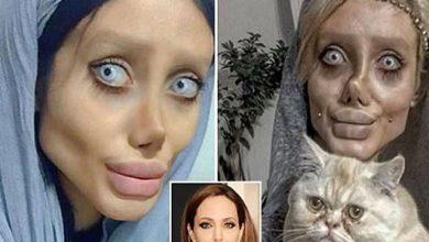 انجلینا کی مشابہت میں شکل بگاڑنے والی ایرانی سوشل میڈیا اسٹار توہین مذہب پر گرفتار