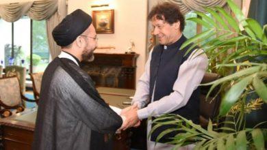 Photo of مولانا سید شہنشاہ حسین نقوی کی وزیراعظم سے ملاقات
