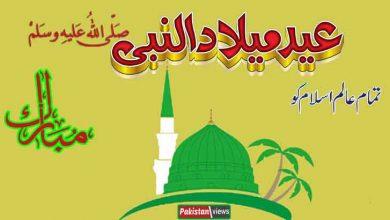 Photo of آج عاشقان رسول ﷺ عید میلاد النبی جوش وخروش سے منارہے ہیں
