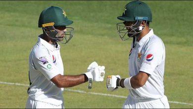 Photo of دوسرا پریکٹس میچ پاکستان نے 7 وکٹوں پر 386 رنز بنالیے