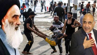 Photo of عراق: حکومت مخالف مظاہرے میں 80  مظاہرین زخمی
