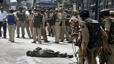Photo of بھارتی فوج کا نام نہاد آپریشن ، 5 کشمیری شہید
