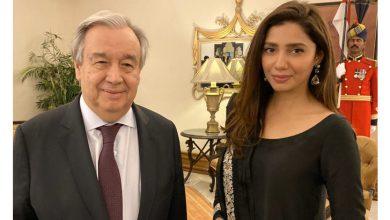 Photo of ماہرہ خان کی اقوام متحدہ کے سربراہ سے ملاقات