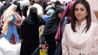 Photo of راشن عطیہ کرنے والوں کے لیے اداکارہ صنم جنگ کا اہم پیغام