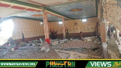 Photo of ضلع لوئر کرم میں امام بارگاہ دھماکا