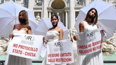 Photo of اٹلی کی دُلہنیں شادی کی مختصر تقریبات سے ناخوش ہیں