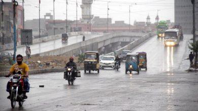 Photo of کراچی کےمختلف علاقوں میں بارش