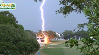 Photo of امریکا میں آسمانی بجلی گرنے کا انوکھا واقعہ