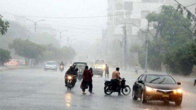 Photo of شہرقائدمیں 80 سے 130 ملی میٹر تک بارش ہونےکاامکان