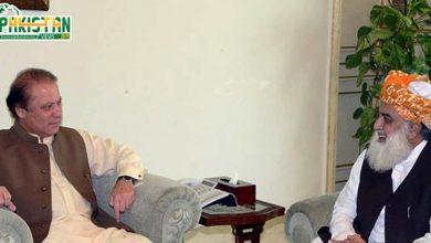 Photo of فضل الرحمن اور نواز شریف کی حکومت کے خلاف تحریک پر مشاورت