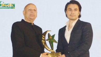 Photo of علی ظفر کے لیے حکومت کی جانب سے شانِ پاکستان ایوارڈ