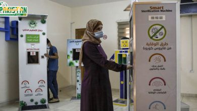 Photo of خاتون نے کرونا وائرس سے بچانے کے لیے خصوصی مشین تیار کی