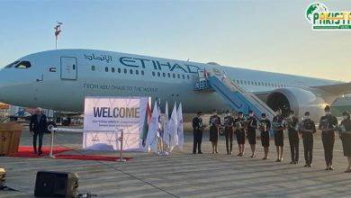 Photo of امارات کا پہلا مسافر طیارہ اسرایل میں داخل