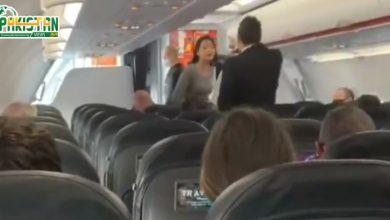 Photo of ماسک نہ پہننے پر مسافر خاتون کو جہاز سے اتار دیا