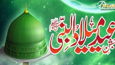 Photo of جشن ولادت ﷺ مذہبی جوش و جذبے سے منایا جارہا ہے