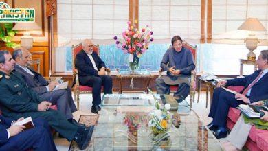 Photo of وزیر اعظم سے ایرانی وزیر خارجہ کی ملاقات