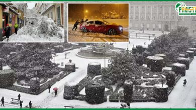 Photo of اسپین میں شدید برف باری