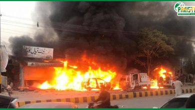 Photo of بلوچستان کے شہر تربت کے بازار میں دھماکہ