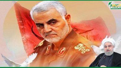 Photo of ایران کا جنرل قاسم سلیمانی کے قتل کا بدلہ لینے کا اعلان