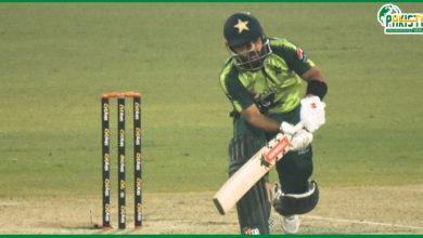 Photo of پہلا ٹی ٹوئنٹی: پاکستان نے 6وکٹوں کے نقصان پر169 رنز بنا لیے