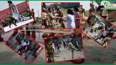 Photo of مقبوضہ وادی میں انسانی حقوق کو مستقل بنیادوں پر کچلا جارہا ہے