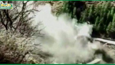 Photo of گلیشیئر ٹوٹنے سے دریا دھولی گنگا میں شدید طغیانی