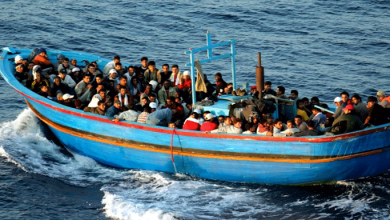 Photo of سمندری راستوں سے یورپ جانے کی کوشش کرنے والے مہاجرین کی بڑی تعداد ہلاک