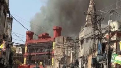 Photo of راولپنڈی تاریخی اُردو بازار میں اچانک آگ کے شعلے بھڑک اٹھے