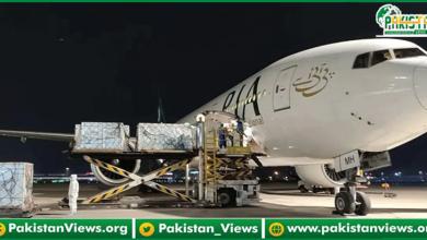 Photo of پی آئی اے کا خصوصی طیارہ  چین سےکورونا ویکسین لیکر اسلام آباد پہنچ گیا