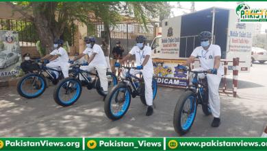 Photo of کراچی میں ٹریفک پولیس اہلکار سائیکل پر بھی گشت کرتے دکھائی دیں گے