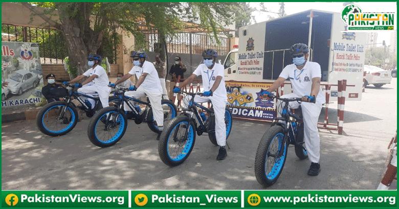 کراچی میں ڈیوٹی کے دوران ٹریفک پولیس اہلکاروں کے اہم مسئلے کے حل