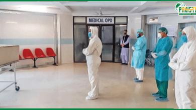 Photo of کرونا وائرس کی تیسری لہر بےقابو ، ایک دن میں مزید 100افراد کی اموات