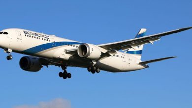 Photo of اسرائیلی ایئر لائن کی پیرس میں ہنگامی لینڈنگ