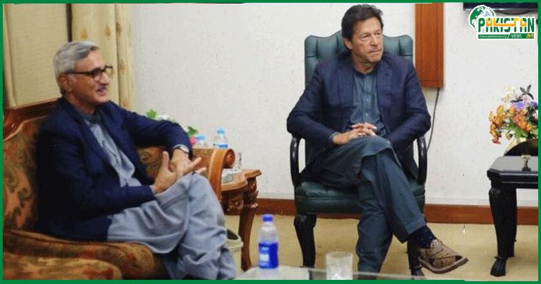 عمران خان کی کرسی جہانگیر ترین کے ہاتھ میں: شاہد خاقان عباسی