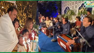 Photo of فواد چوہدری دھڑلے سے اپنی سالگرہ پر جشن منا رہے ہیں جہاں موسیقی کا اہتمام بھی کیا گیاہے۔