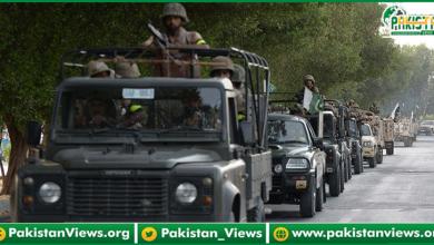 Photo of اسلام آباد میں پاک فوج  نے ذمہ داری سنبھال لی
