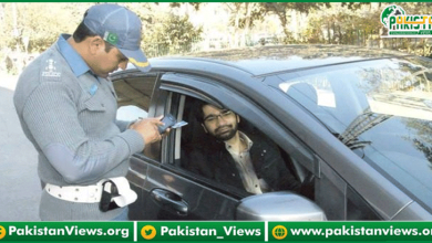 Photo of بغیر ماسک ڈرائیونگ کرنے والوں کا چالان