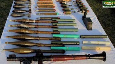 Photo of بلوچستان سے بھارتی ساختہ اسلحہ برآمد