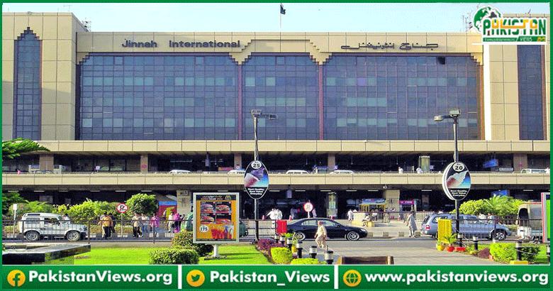 جناح انٹر نیشنل ایئرپورٹ پر بیرون ملک سے آنے والوں
