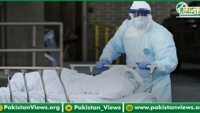 Photo of کرونا وائرس سےگزشتہ چوبیس گھنٹوں کے دوران مزید 140 افرادکی اموات