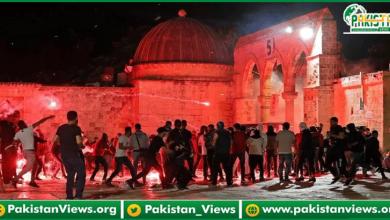 Photo of مسجد اقصیٰ پر اسرائیلی فو ج کا حملہ: پاکستان کی شدید الفاظ میں مذمت