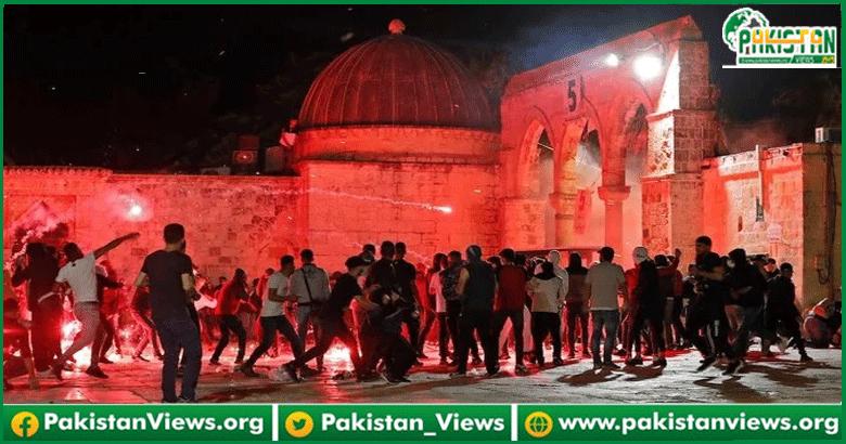 مسجد اقصیٰ پر اسرائیلی فو ج کا حملہ: پاکستان کی شدید الفاظ میں مذمت