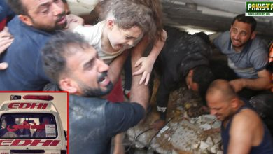 Photo of ایدھی ایمبولینسیں غزہ پہنچ گئیں