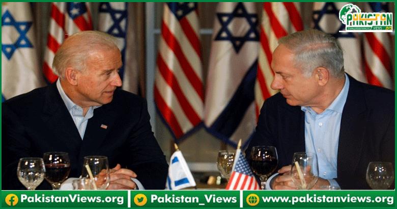 امریکی صدر جو بائیڈن کا اسرائیلی وزیراعظم