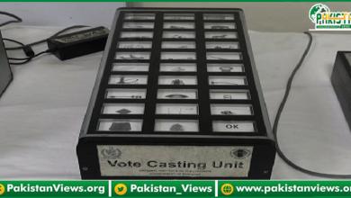 Photo of آئندہ الیکشن دھاندلی سے پاک، جائزے کیلئےالیکٹرانک ووٹنگ مشین پارلیمنٹ میں رکھ دی