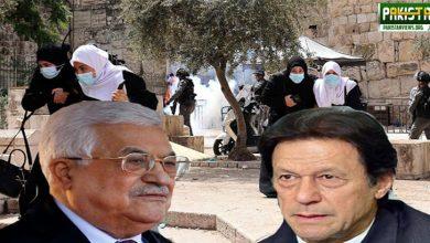 Photo of وزیر اعظم عمران خان کا فلسطینی صدر سے ٹیلی فون پر رابطہ
