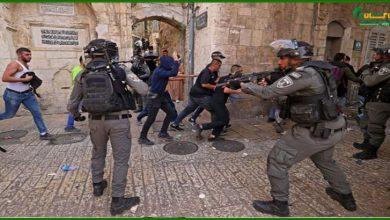 Photo of اسرائیلی فورسز نے ایک مرتبہ پھر فلسطینیوں پر دھاوا بول دیا