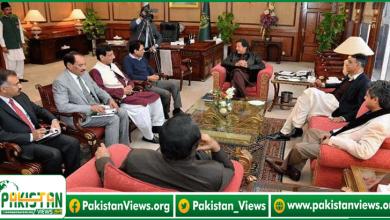 Photo of وزیراعظم سے ایم کیو ایم پاکستان کے وفد کی اہم ملاقات ، گورنر راج لگانے کی تجویز پیش