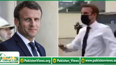 Photo of فرانسیسی صدر میکرون کو ایک شخص نے تھپڑ دے مارا، ویڈیو دیکھیں