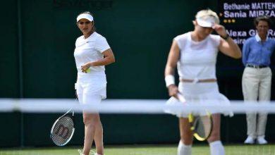 Photo of ٹینس سٹار ثانیہ مرزا چار سال کے وقفے کے بعد ومبلڈن ٹینس مقابلوں میں واپس